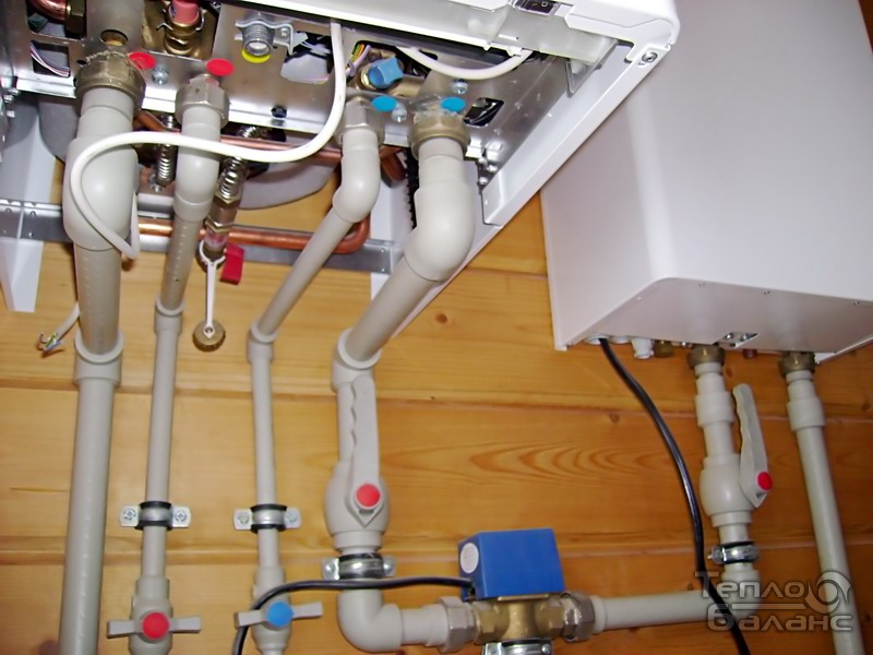 Обвязка двухконтурного газового котла своими руками