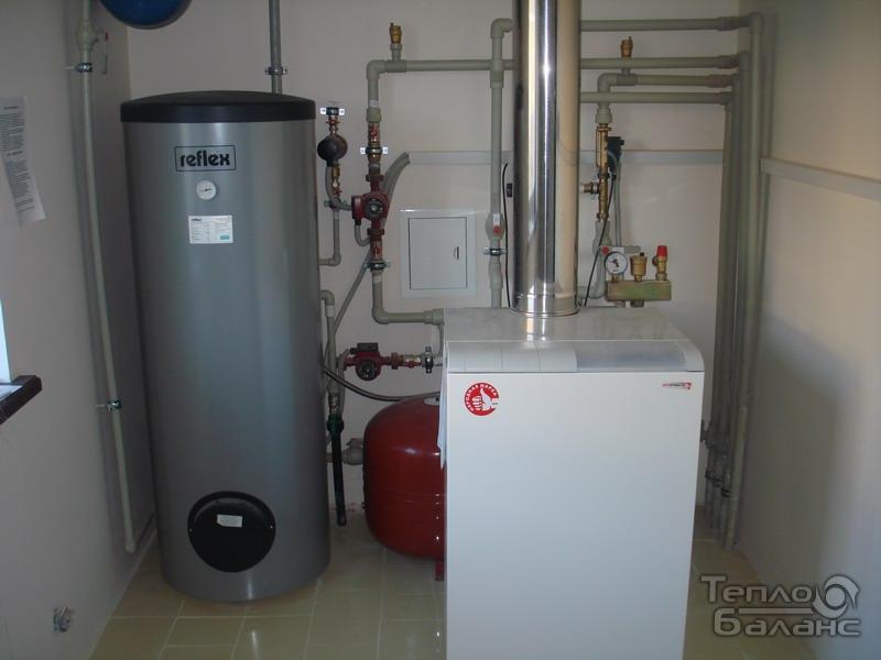 Как сделать газовый котел на воде 735